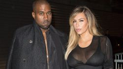 Kim And Kanye Hit Up Paris Fashion