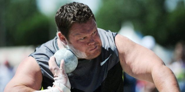 Track And Field: Dylan Armstrong Shooting For Gold At London
