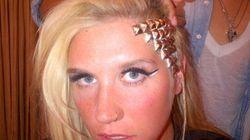 Ke$ha Replaces Hair With Metal