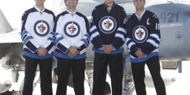 Winnipeg Jets Unveil New