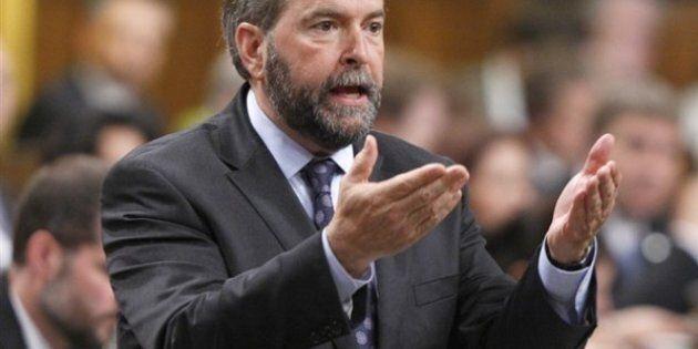 Thomas Mulcair: Fracking Regulation By Energy Lobby A 'Con