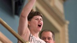 LOOK: Topless Protest Over Values Charter Inside Quebec