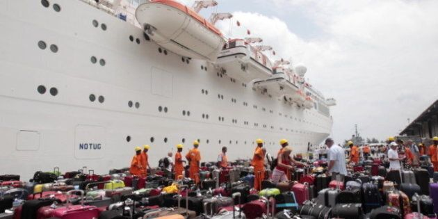 Costa Allegra, Stranded Cruise Liner, Docks After Three Days