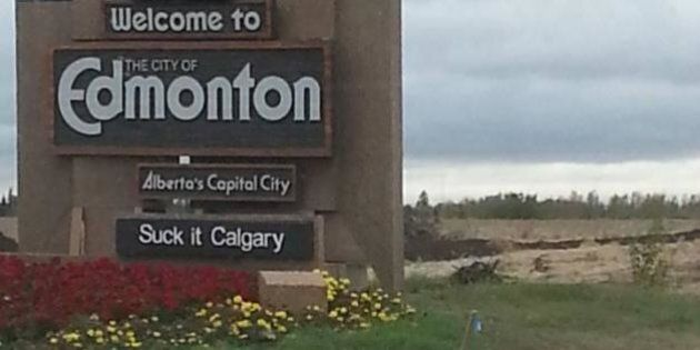 Welcome To Edmonton Signs Get New Slogans As Part Of Intricate Pranks, Acts Of