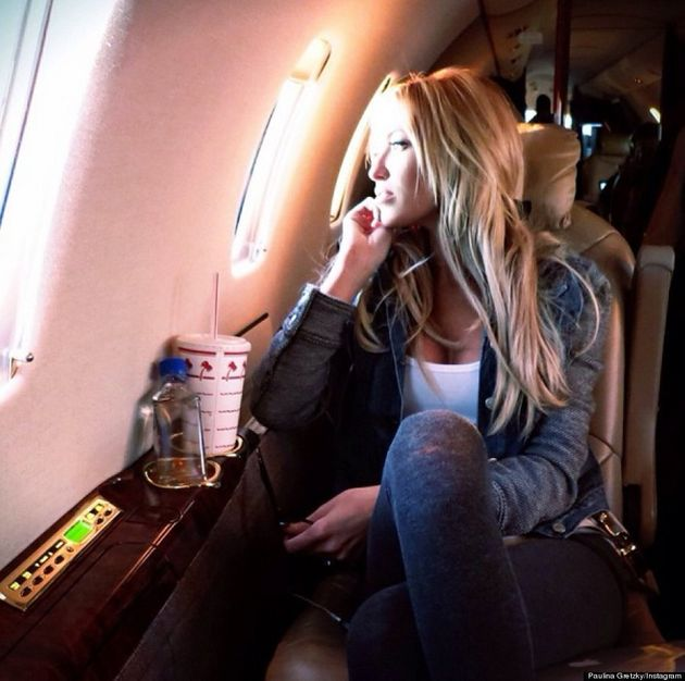 Paulina Gretzky's Private Plane Isn't As Fabulous As You Think