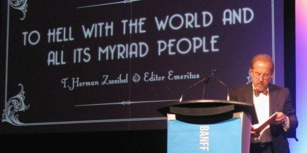 Steve Hannah, The Onion CEO, Utters Just Three Words In Banff Media Festival