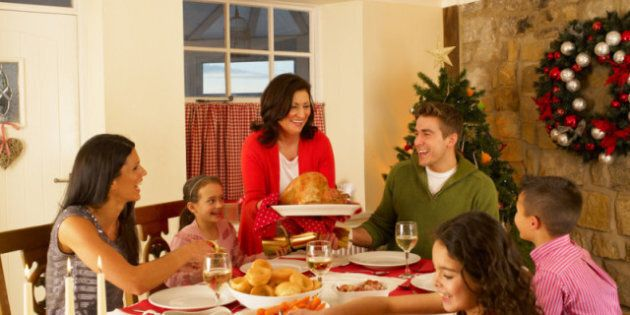 Family Holiday Tension: Getting Through Christmas Without