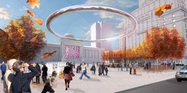 Vancouver Art Gallery Plaza Designs Unveiled To