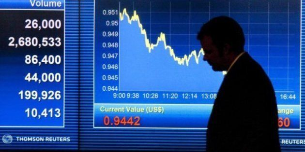 Toronto Stock Exchange Plummets As Markets Pull Back On Uncertainty In Europe, Commodity Price