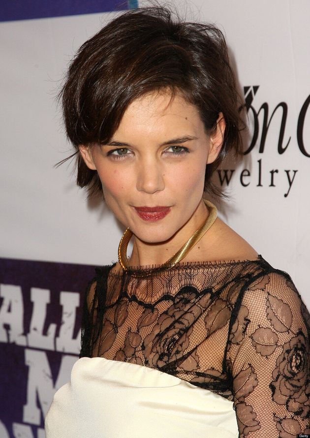 Katie Holmes Couldn't Cope With Short Haircut | HuffPost ...