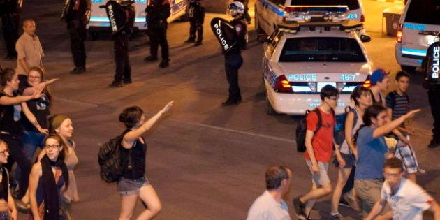 Quebec Student Protest: Nazi Salutes Enrage Jewish