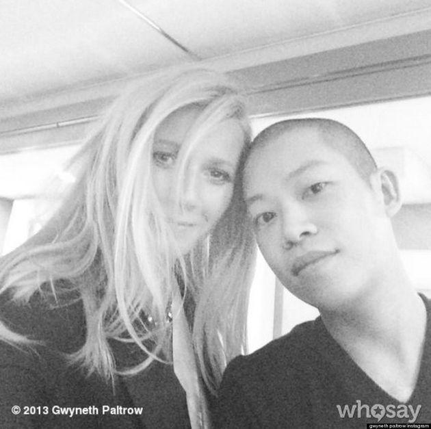 Gwyneth Paltrow Joins Instagram, Poses With Designer Jason Wu