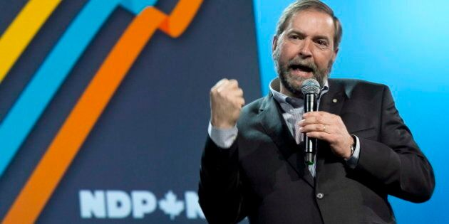 Thomas Mulcair Alberta Government: NDP Leader Pans Province For Seeking To Silence Oilsands