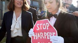 SEE: Rogue Page Protests 'Harper's Gang' As Wildrose Leader
