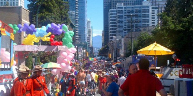 Thousands Attend Vancouver Pride