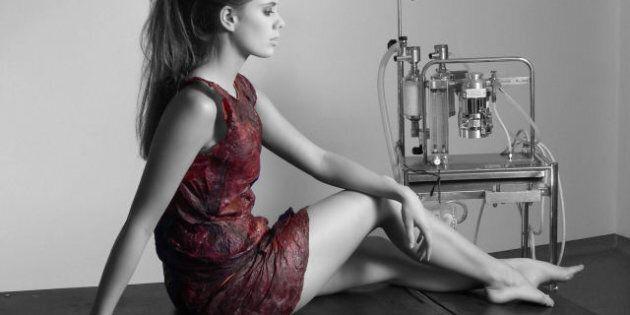 Wine Dress: Australian Researcher Creates Garment Out Of 'Wine Skin'