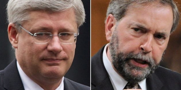 Thomas Mulcair: Stephen Harper Must Deal With Journalists'