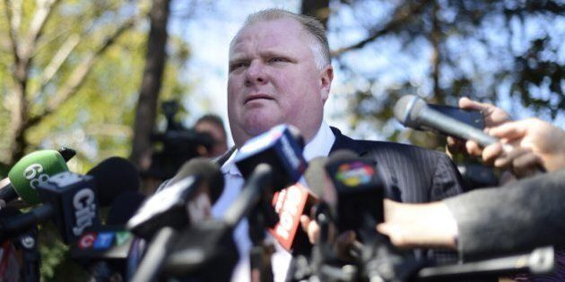 Mayor Rob Ford Ducks Queries On Texas Trip About Friend's