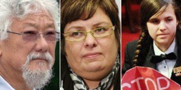 David Suzuki, Chief Theresa Spence, Brigette DePape Get Together To Take On