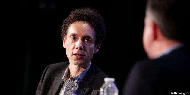 NEW YORK - OCTOBER 02:  Journalist Malcolm Gladwell speaks at the 2010 New Yorker Festival at DGA Theater on October 2, 2010 in New York City.  (Photo by Amy Sussman/Getty Images the New Yorker)