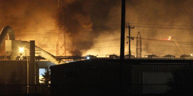 Winnipeg Fire Photos: St. Boniface Blaze Captured In