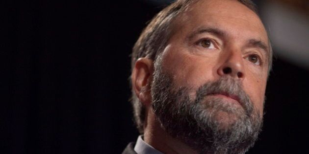 Tom Mulcair Says No To Wealth Tax, Expects Linda McQuaig To Be Team