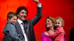 LOOK: Trudeau Rallies Like A Rock