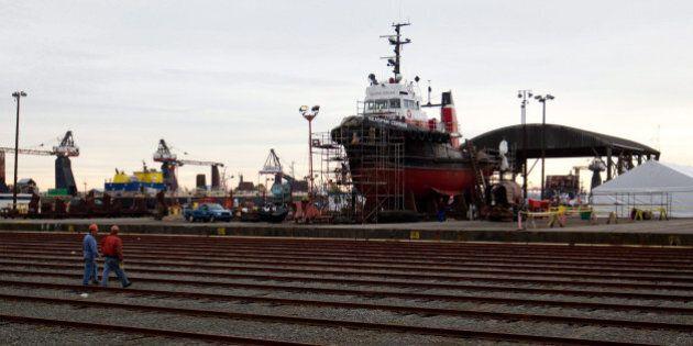 Seaspan Shipbuilding Contract For Coast Guard Ships Worth $3.3
