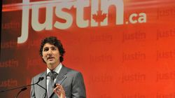 Justin Trudeau Wears Lacklustre Outfit To Announce Liberal Leadership