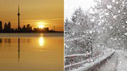 Spring-Like Temps In Ontario, Quebec. Newfoundland, Not So