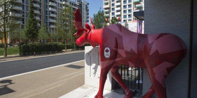 Olympic Athlete's Village Moose Victim Of