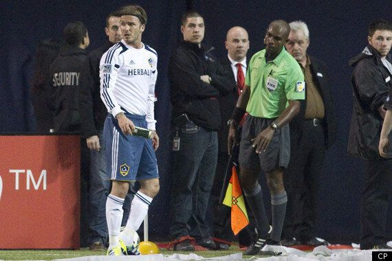 David Beckham Beer Can Incident: Fan Hurls Can; Footballer Parlays Anger Into Tying Goal Against Toronto...