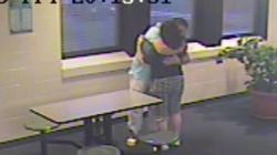 Surveillance Video Shows Loving Embrace Month After Tori's