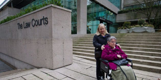 Assisted Suicide Laws In Canada Infringe Rights, Says B.C. Supreme Court; Gloria Taylor Granted