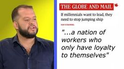 WATCH: The Globe And Mail Hates Young