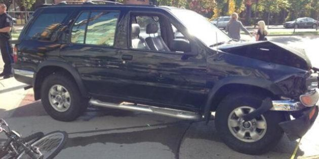 Boy Thanks Vancouver Strangers Who Lifted SUV Off