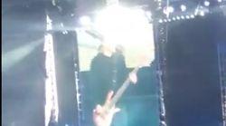 Metallica rend hommage à Johnny au Stade de