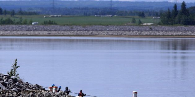 Red Deer River Fishing: Anglers Can't Take What They Catch From Oil Spill River In Central