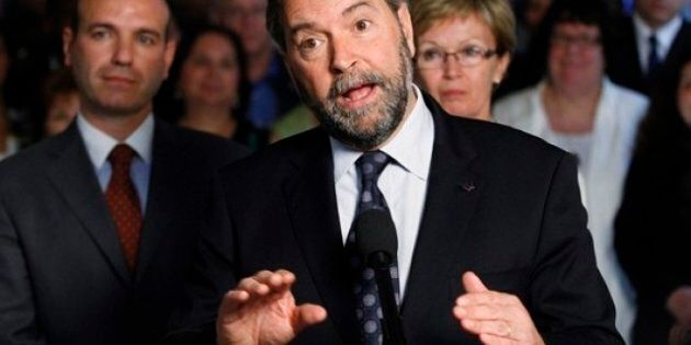 Quebec Poll Finds Charest Making Gains While Mulcair Maintains Federal