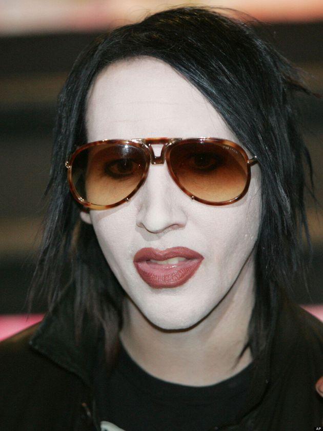 Marilyn Manson No Makeup: Shock Rocker Photographed On 'Eastbound & Down' Set