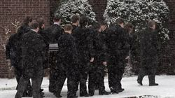 Funeral For 2nd Victim Of Murder-Suicide In Snowy