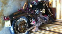 Did Tsunami Motorcycle Wash Ashore In