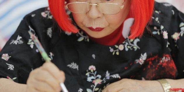 Artist Yayoi Kusama Sees The World In Dots, Collaborates With Louis