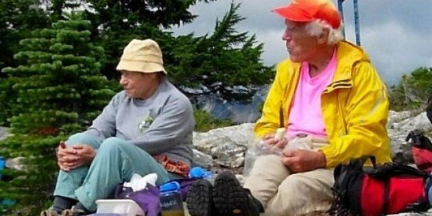 Esther, Martin Kafer, Oldest Couple Conquer Mount
