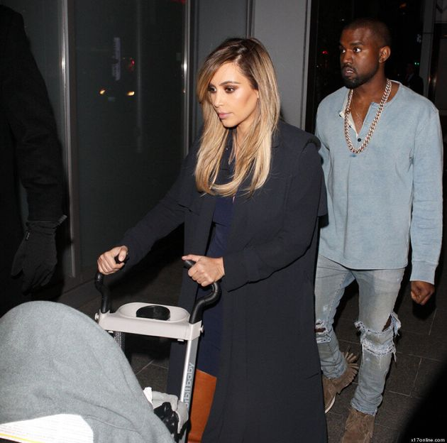 Kim Kardashian Wears The Coat Of The Season (VIDEO,