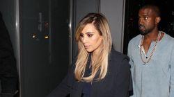 Kim Kardashian Wears A Fall