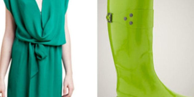 St. Patrick's Day: Get Lucky With These Green Fashions