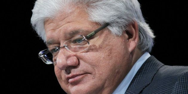 SAN FRANCISCO, CA - OCTOBER 18: Research in Motion President and co-CEO Mike Lazaridis delivers a keynote...