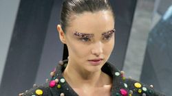 Would You Wear Chanel's Glitter Eyebrow