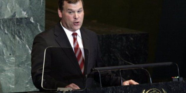 John Baird, Foreign Affairs Minister: UN Security Council Campaign Nixed After Last Year's Historic